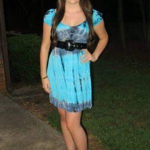 Tie Dye Boutique Dress
